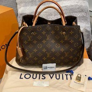 💥💥Sale Louis Vuitton Montaigne MM tote💥💥